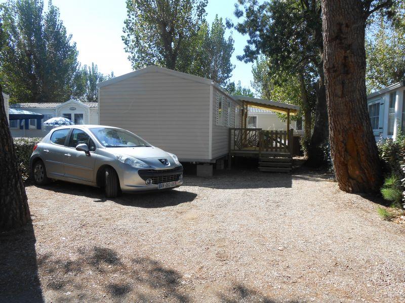 Vue extérieure de la location Location Mobil-home 90517 Vias Plage