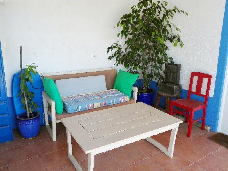 Vue de la terrasse Location Studio 91278 Lisbonne