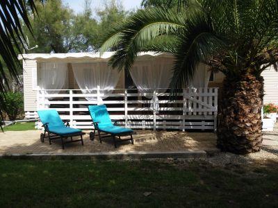 Jardin Location Mobil-home 93121 Vias Plage