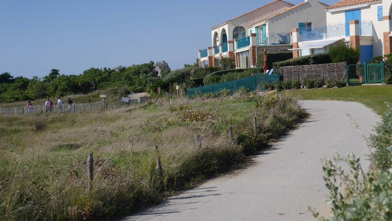 Vue extérieure de la location Location Maison 94166 Bretignolles sur mer