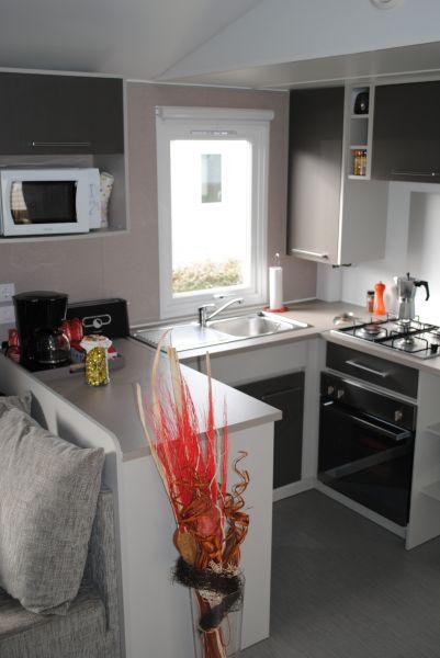 Cuisine américaine Location Mobil-home 102122 Blois