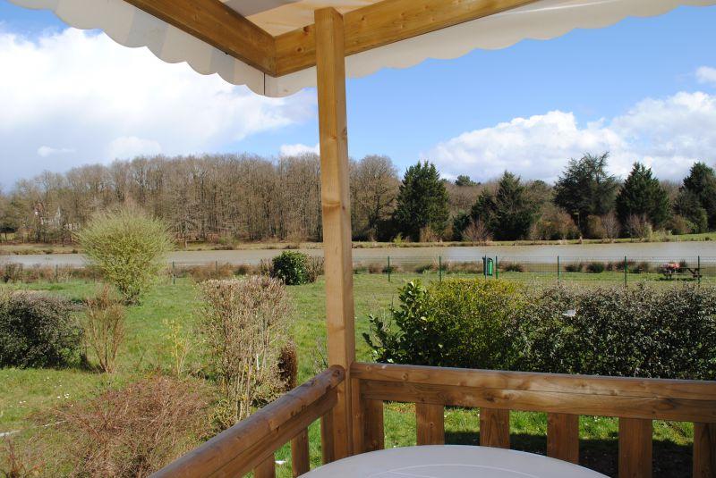 Vue de la terrasse Location Mobil-home 102122 Blois
