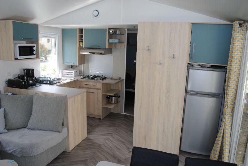 Entrée Location Mobil-home 102122 Blois