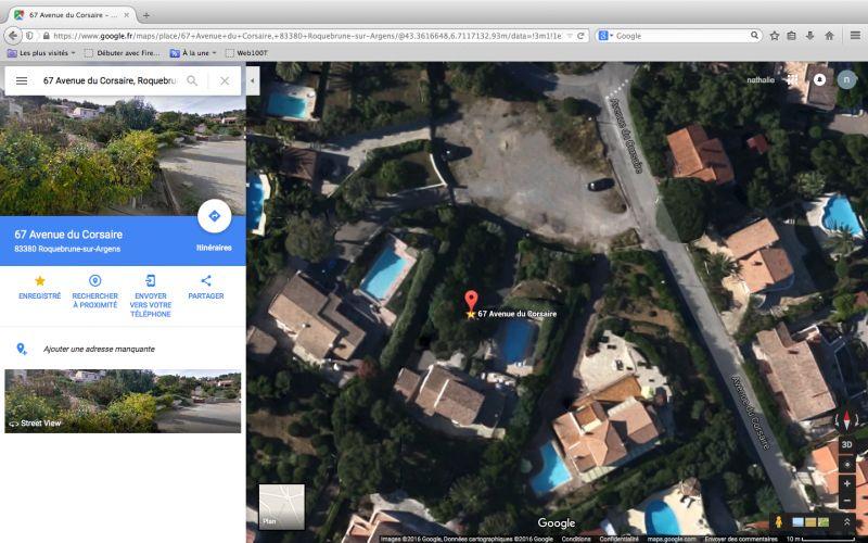Vue à proximité Location Villa 103815 Les Issambres