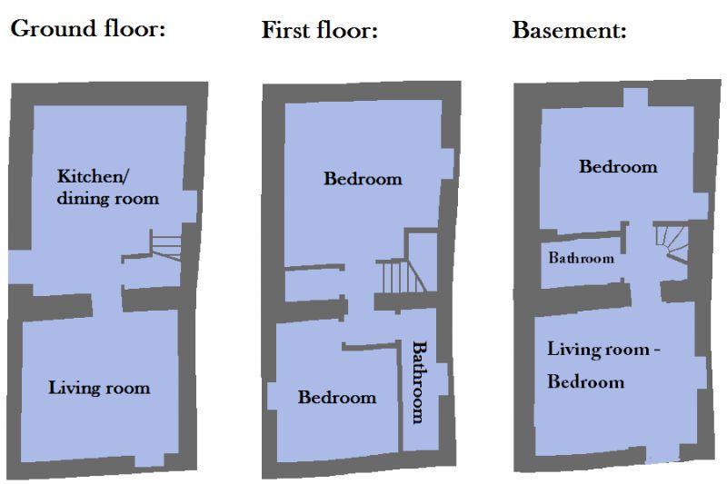 Plan de la location Location Gite 109620 Sienne