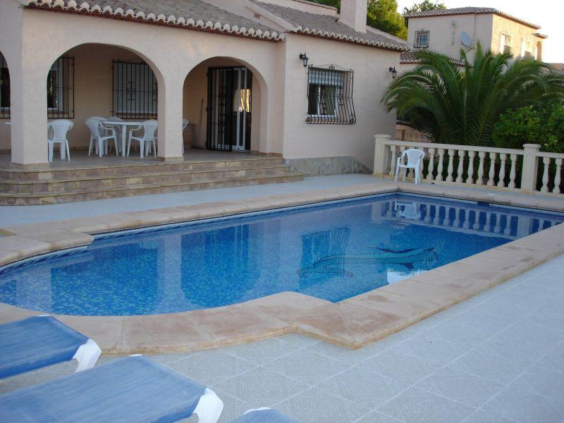 Terrasse Location Villa 111838 Calpe