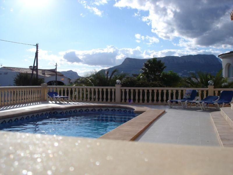 Vue de la terrasse Location Villa 111838 Calpe