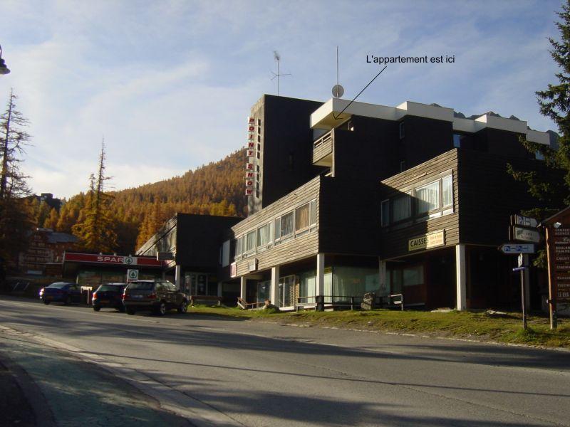 Vue à proximité Location Appartement 112433 Vars