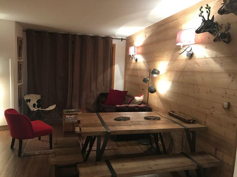 Séjour Location Appartement 112657 Méribel