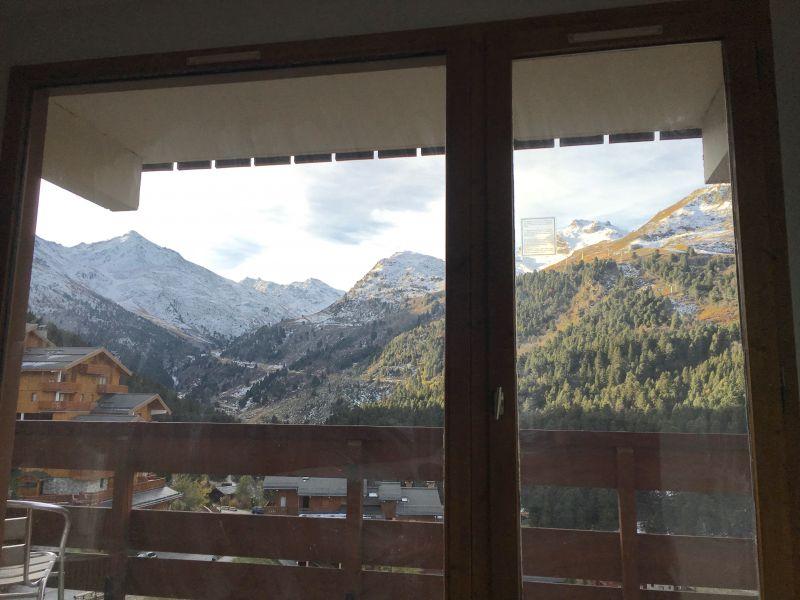 Vue du balcon Location Appartement 112657 Méribel