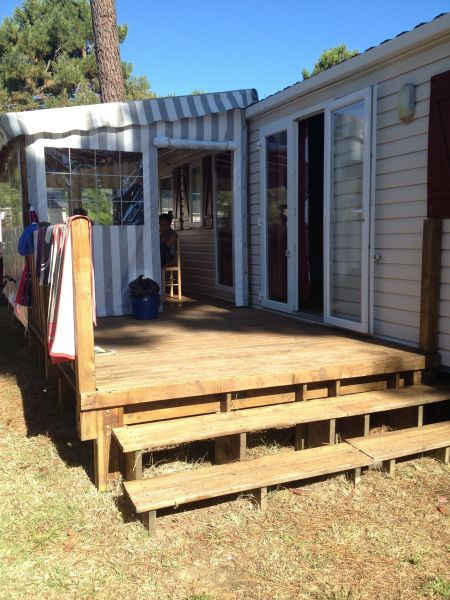 Terrasse Location Mobil-home 113915 Royan