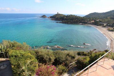 Vue depuis la location Location Villa 115877 Porto Vecchio