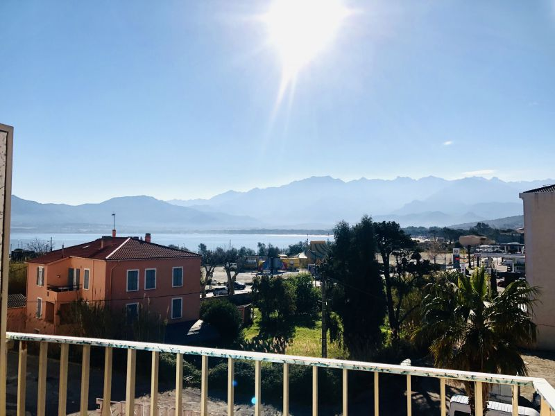 Vue du balcon Location Appartement 118631 Calvi