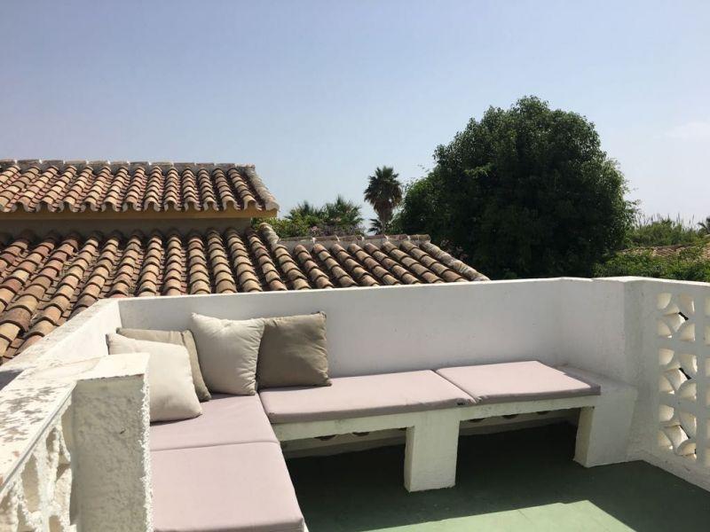 Vue de la terrasse Location Villa 119319 Marbella