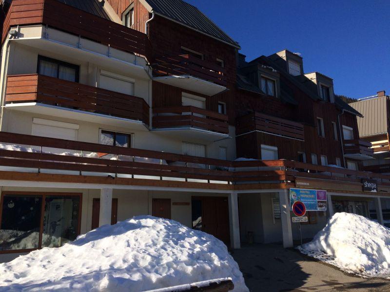 Vue extérieure de la location Location Appartement 64766 Les Sept Laux