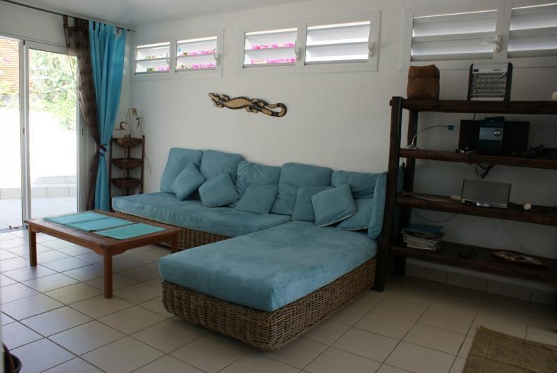 Vue de la terrasse Location Villa 65357 Saint Francois