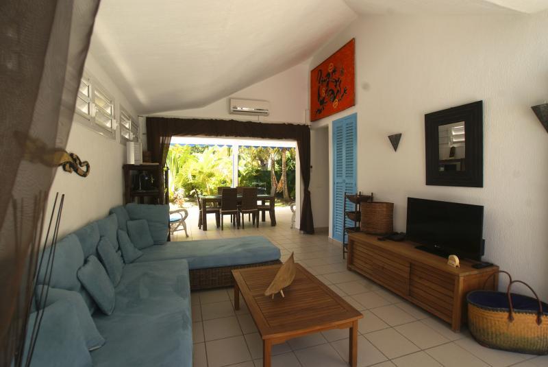 Vue depuis la location Location Villa 65357 Saint Francois