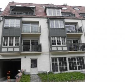 Vue ext�rieure de la location Location Appartement 67306 Koksijde