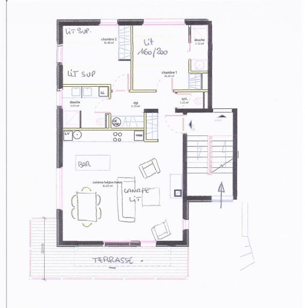 Plan de la location Location Appartement 76440 Valmorel
