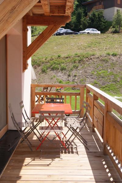 Terrasse Location Appartement 76440 Valmorel