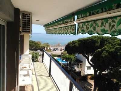 Vue depuis la location Location Appartement 76574 Barcelone