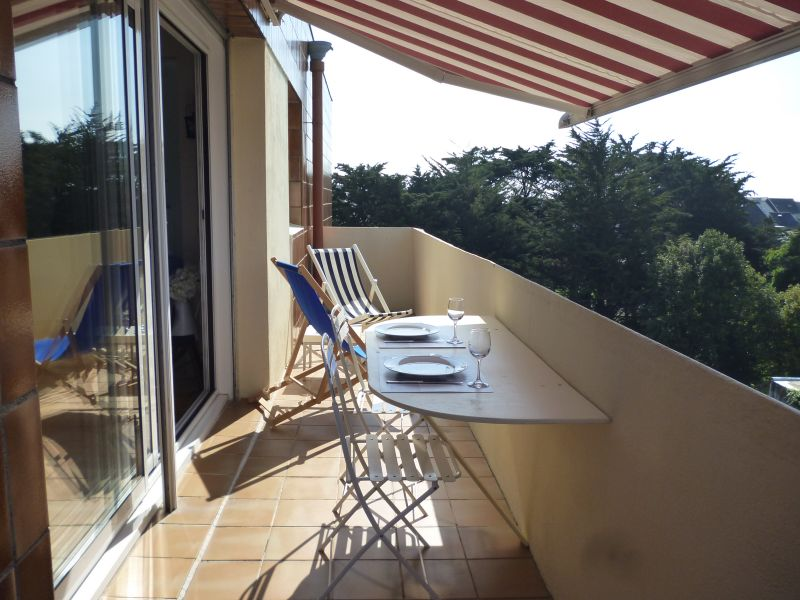 Vue de la terrasse Location Appartement 77505 Quiberon