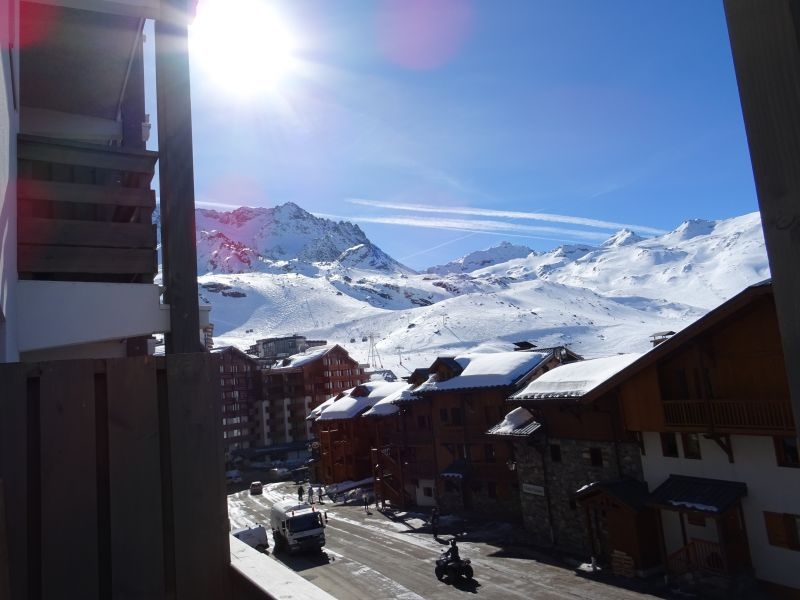 Vue du balcon Location Appartement 80328 Val Thorens