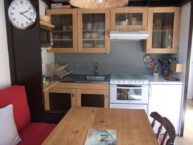 Cuisine américaine Location Appartement 80794 Argentière