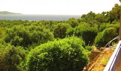 Vue de la terrasse Location Appartement 83253 Cavalaire-sur-Mer