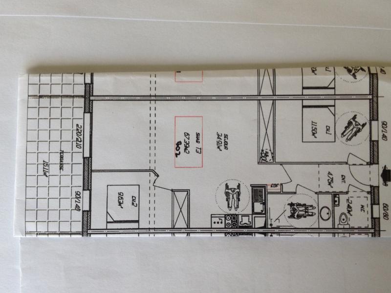 Plan de la location Location Appartement 84937 Sarzeau