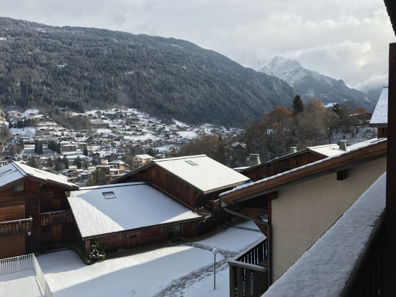 Vue du balcon Location Studio 86819 Saint-Gervais-les-Bains
