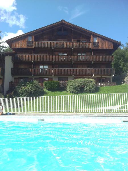 Vue extérieure de la location Location Studio 86819 Saint-Gervais-les-Bains