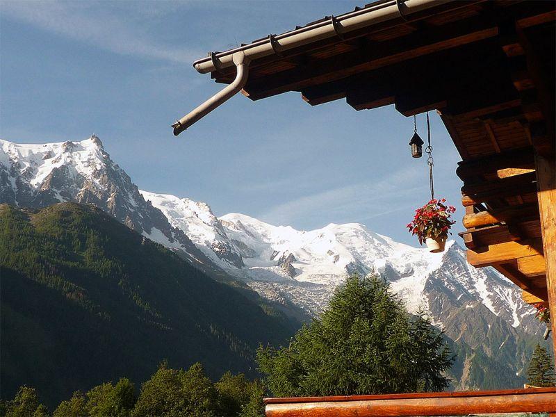 Vue depuis la location Location Chalet 88059 Chamonix Mont-Blanc