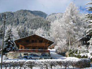 Vue ext�rieure de la location Location Chalet 88059 Chamonix Mont-Blanc