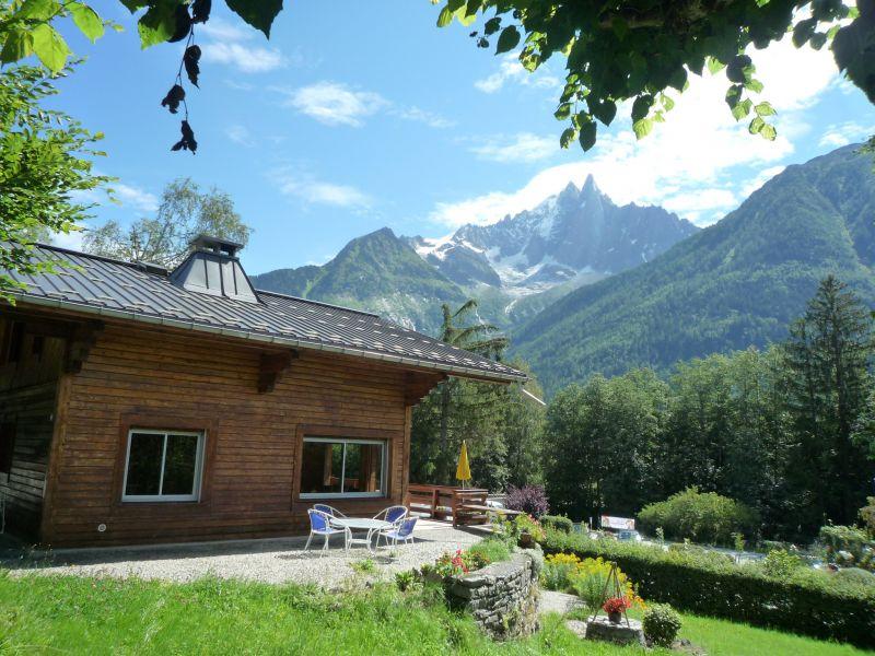 Terrasse Location Chalet 88059 Chamonix Mont-Blanc