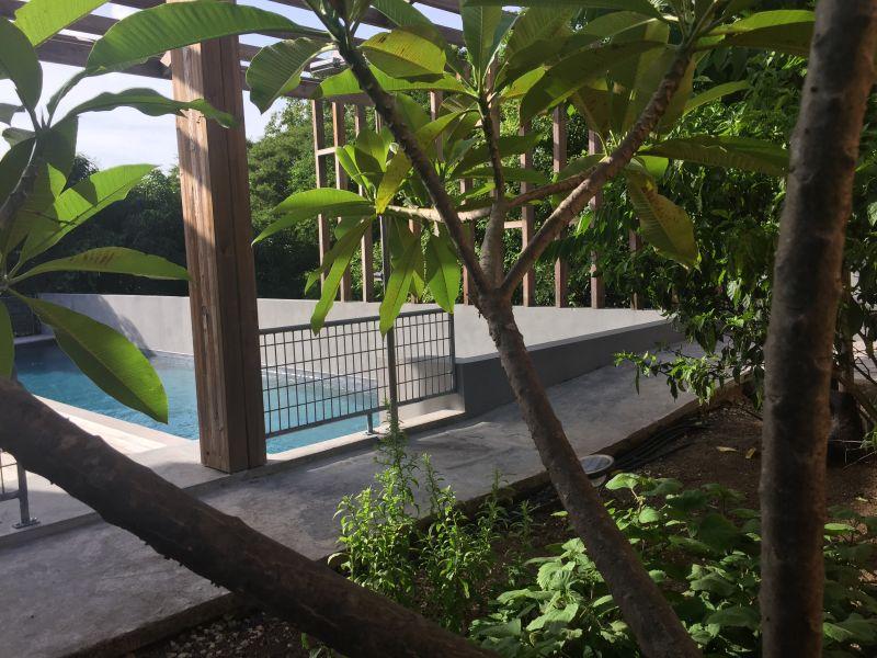 Vue de la terrasse Location Chambre d'hôte insolite 93210 Gosier (Guadeloupe)