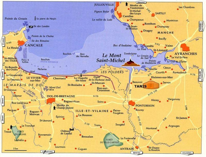 Vue autre Location Gite 93420 Mont Saint Michel