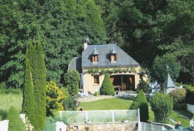 Vue ext�rieure de la location Location Chalet 95699 Saint Lary Soulan