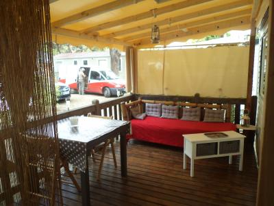 Terrasse Location Mobil-home 97399 Saint Tropez