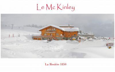 Vue ext�rieure de la location Location Appartement 99577 La Rosi�re 1850