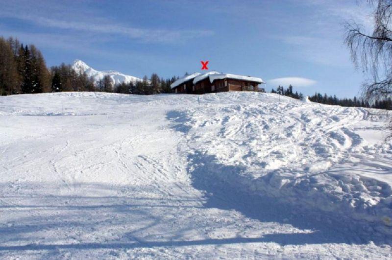 Vue extérieure de la location Location Gite 100022 Les Arcs