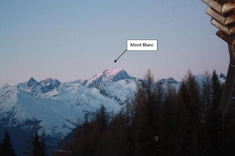 Vue de la terrasse Location Gite 100022 Les Arcs