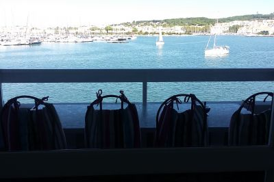 Vue depuis la location Location Studio 103243 Cap d'Agde