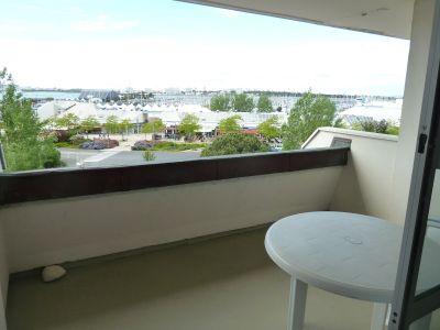 Vue de la terrasse Location Studio 103536 La Rochelle