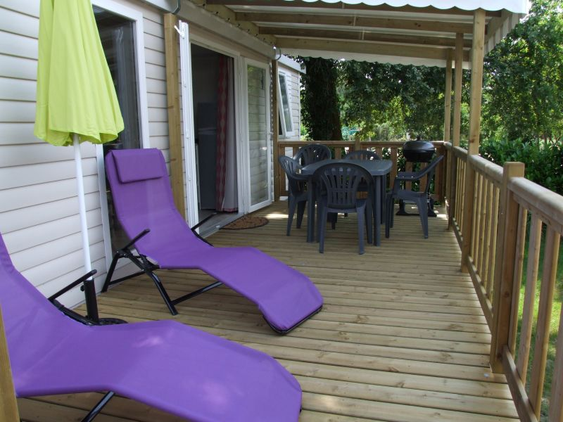 Terrasse Location Mobil-home 105434 Gastes