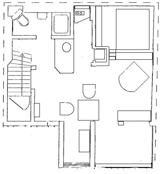 Plan de la location Location Appartement 106237 Lisbonne
