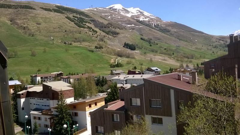 Vue du balcon Location Appartement 106447 Les 2 Alpes