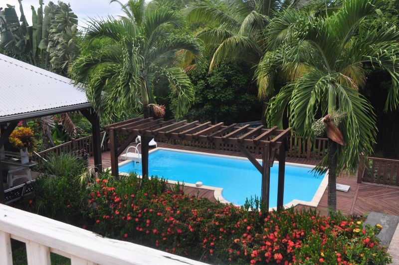 Piscine Location Bungalow 107302 Deshaies
