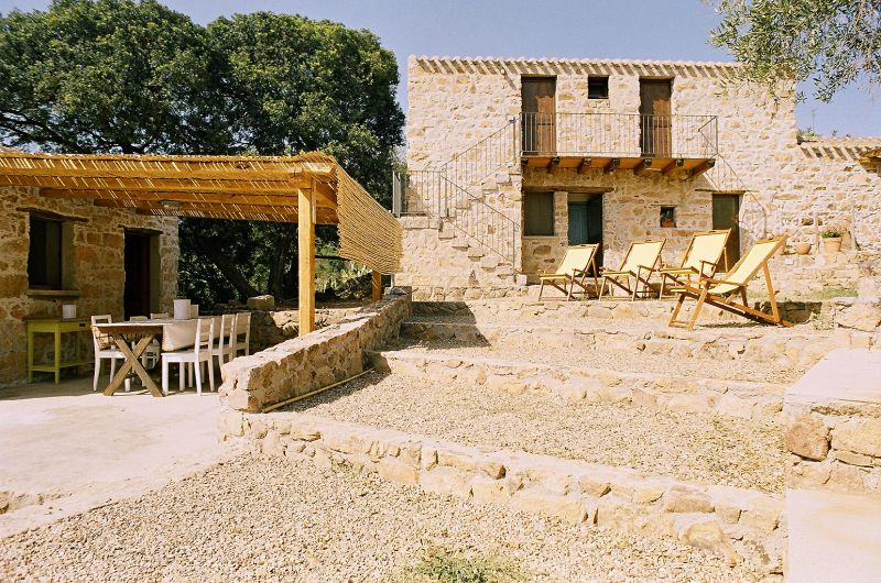 Vue depuis la location Location Villa 110022 Santa Maria Navarrese