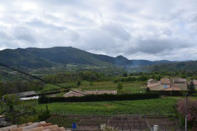 Vue de la terrasse Location Maison 110189 Aubenas